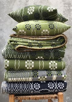 Currently Crushing On: Welsh Blankets - Honestly WTF Labour And Wait, Welsh Blanket, Wool Blanket, Welsh Cottage, Period Living, Ivy House, Reno, Flower Market, Soft Furnishings