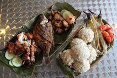 PERFECT! Milk Fish, Garlic Rice and Roasted Eggplant
