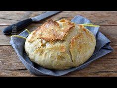 Paine fara framantare (CC Eng Sub) Potato Recipes, Bread Recipes, Cookie Recipes, Braided Bread, Easy Bun, No Knead Bread, Yule Log, Bread And Pastries, Dessert