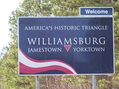 One of the best places for a great, historical family vacation: Virginia - Williamsburg, Jamestown  Yorktown