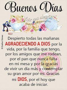 Good Morning Texts, Good Morning Quotes, Religion, God, Parents, Buen Dia, Cute Good Morning Pictures, Cute Good Morning Quotes, Dios
