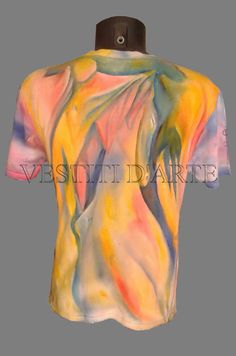 MAXI DRESSES handpainted mens tshirts funny t by Vestitidarte