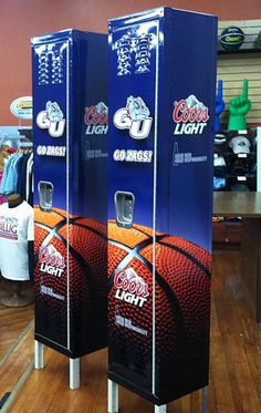Gonzaga University Sponsor Lockers