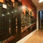 New York Theme Bedroom