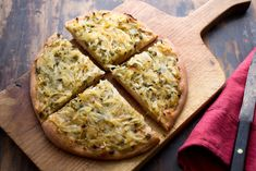 Focaccia with sweet onion topping