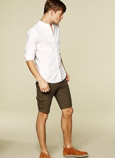 Men's Spring/Summer look, casual menswear style