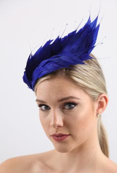 FEATHER FLOWER HATS | Carole Maher, a qualified couture milliner and an international Tutor will teach you how to create magnificent Feather Flowers that are the whole hat. #millinery #hatacademy