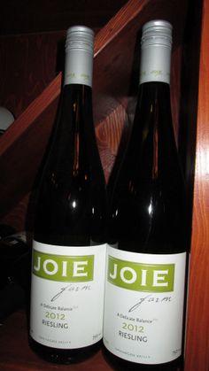 Joie 2012 Reisling