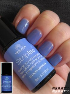 56 - Lucky Levander; two coats; like emmm ... baby sky violet :)