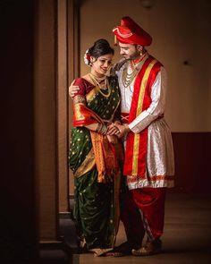 #bride #bridetobe #wedding #weddingmasti #shaadi#bollywood #bollywoodfashion #beautiful #pretty#fun #masti #entertainment#dulhaniya #indianweddingstory #bridemaids #maharastrian #marathiwedding #marathi Hindu Wedding Photos, Indian Wedding Poses, Indian Wedding Couple Photography, Pre Wedding Poses, Indian Bridal Outfits, Photography Couples, Wedding Outfits, Indian Weddings, Wedding Attire