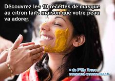 Vous cherchez une recette de masque pour nettoyer votre peau naturellement ?  Découvrez l'astuce ici : http://www.comment-economiser.fr/10-masques-beaute-au-citron-que-votre-peau-va-adorer.html?utm_content=bufferf71a3&utm_medium=social&utm_source=pinterest.com&utm_campaign=buffer