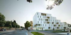 HIC Arquitectura » Olgga Architects | Vivienda Social en Caen, Francia