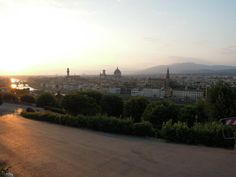 View from P.le Michelangelo, Florence, Italy