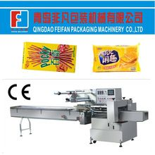 Full automatic horizontal flow packing machine for biscuit/cake/bread