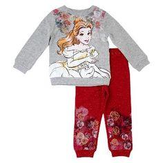 Baby Disney Princess Belle Top And Bottom Set Disney Heather Grey 18 M, Infant, Gray Disney Princess Belle, Cute Princess, Princess Outfits, Cute Outfits For Kids, Toddler Girl Outfits, Cute Kids, Toddler Girls, Baby Girls, Disney Tops