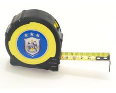 DIY is so big in Huddersfield, the club even have their own tape measures.
