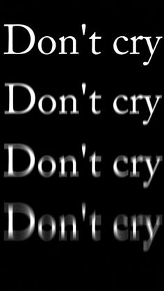 don't cry shared by on We Heart It Sad Wallpaper, Wallpaper Quotes, Mood Quotes, True Quotes, Truth Hurts, It Hurts, Crying Tumblr, Black Aesthetic Wallpaper, Aesthetic Black