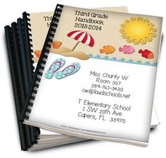 Beach Theme Classroom Parent Handbook!  Finally! A handbook for your students' PARENTS! This 12-page file can be customized, printed, hole-punched, and placed in a 3-prong folder to hand out on Open House/Curriculum Night or even emailed instead! It answers all the most asked questions, so you don't have to! Make your Open House Night about meeting and greeting, not explaining every classroom detail. This colorful handbook includes the following pages where all text can be changed. $