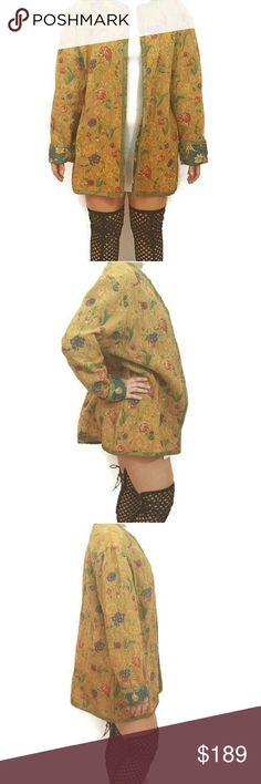 Aida Dalati Atelier Designer Wearable Art Jacket . Made in San Francisco . 63% Cotton . 37% Rayon . Aida Dalati Atelier Jackets & Coats