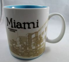 Starbucks Miami Florida Icon Global Collector Mug 2011 | eBay