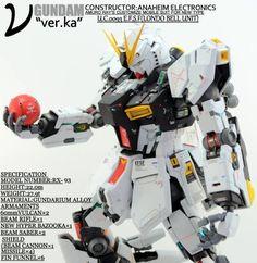 MG Nu Gundam Ver.Ka EVOLVE 5 Custom: work by kohaneism2006 Photoreview Big Size Images http://www.gunjap.net/site/?p=195127