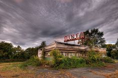 Diners and their iconic, stainless steel prefab architecture are an important part of the United States' cultural fabric. But many diners in the country's outlying communities sit empty and abandoned.