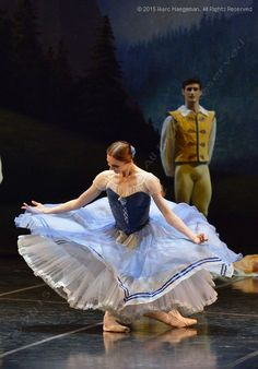 Giselle at Teatro Alla Scala (February Principal guests Svetlana Zakharova and Friedemann Vogel as Giselle and Albrecht, Nicoletta Manni as Myrtha. Photo by Marc Haegeman Ballerina Dancing, Ballet Dancers, Ballerinas, Ballet Costumes, Dance Costumes, Carnival Costumes, Ballet Russe, La Bayadere, Ballet Performances