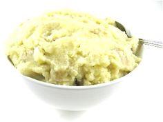 Dreamy, Dairy Free, Skinny Mashed Potatoes...Mashed potatoes really ...