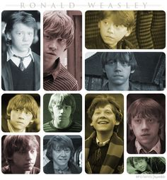 """""""Ron was always my favorite character, because I feel like I relate to him, like we've both got red hair, we both like sweets, we've both got lots of brothers and sisters."""" -Rupert Grint"""