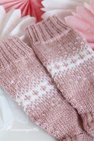 Prinsessajuttu: Taaperon villasukat Contemporary Landscape, Fingerless Gloves, Arm Warmers, Diy And Crafts, Knitting, Fashion, Fingerless Mitts, Moda, Fingerless Mittens