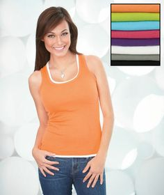 Mix and match colors or wear as everyday camisoles - set of 8 colors! Simple womens clothing