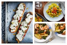 Weekly Meal Plan: 5 easy family dinner recipes for the week ahead.