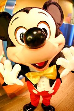 Cute photo of Mickey Mouse!  Happy Tuesday everyone!