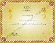 Reiki certificate templates download feel free to explore my reiki certificate template xszriahz yelopaper Image collections