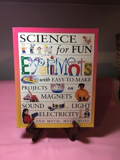 A personal favorite from my Etsy shop https://www.etsy.com/listing/517783233/science-for-fun-experiments-with-easy-to
