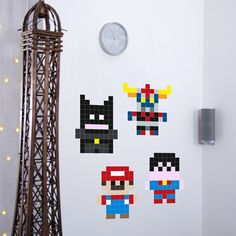 Fab.com | Mini Heroes Decal