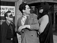 The first serial featuring the Caped Crusader, 1943's Batman , was produced at the height of the frenzied zeitgeist of WWII, and feature...