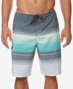 633990e441ae9 O'Neill Men's Lennox Printed Swim Trunks - Blue 33 Men's Swim Trunks, Shorts