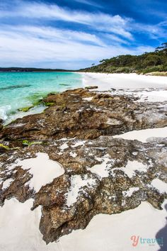 Visit beautiful Hyams Beach in Jervis Bay, NSW, Australia Places Around The World, The Places Youll Go, Around The Worlds, Oh The Places You'll Go, Beautiful Sites, Beautiful Beaches, Beautiful World, Vacation Trips, Dream Vacations