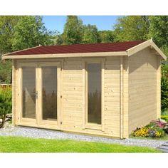 greenway 45m x 3m swinley log cabin httpwwwshedscoukgreenway 4 5m x 3m swinley log cabinhtml log cabins pinterest - Garden Sheds 5m X 3m