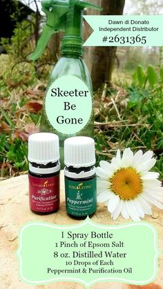 As you now know, I am completely obsessed with my Young Living Essential Oils!! It seems I find a new recipe everyday, for something that ails me. My newest brew is Skeeter Be Gone ( AKA Mosquito Repellent)!! I don't just get a mosquito bite here and there. I get flogged like I just enraged …