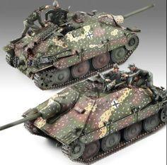 Jagdpanzer Hetzer 1/35 Academy plastic model kit /military