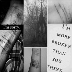 #death #sorry #cutting #myself #pain #scars #blood #suicide
