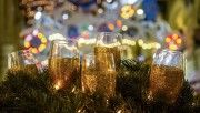 merry christmas champagne hd wallpapers download