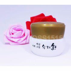 Sooryehan White Ginseng Whitening Cream Sample 10ml Korean Cosmetics #Sooryehan