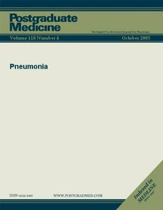 Pneumonia (Postgraduate Medicine) by JTE Multimedia. $3.29. 8 pages. Publisher: JTE Multimedia; 4 edition (May 22, 2011)