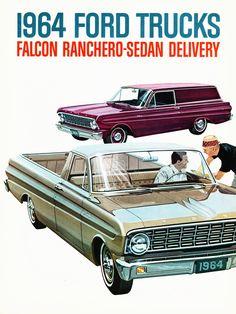 1964 Ford Falcon Ranchero & Sedan Delivery
