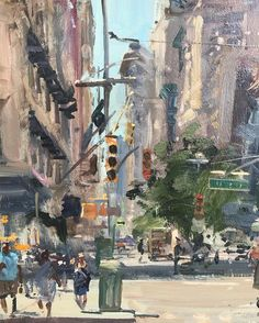 Flatiron Building, Urban Landscape, Manhattan, Shadows, Buildings, Nyc, Journey, Street, Brown