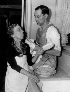 Buster and Ma Keaton