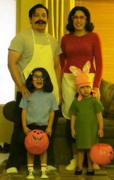 bobs burgers family halloween costume